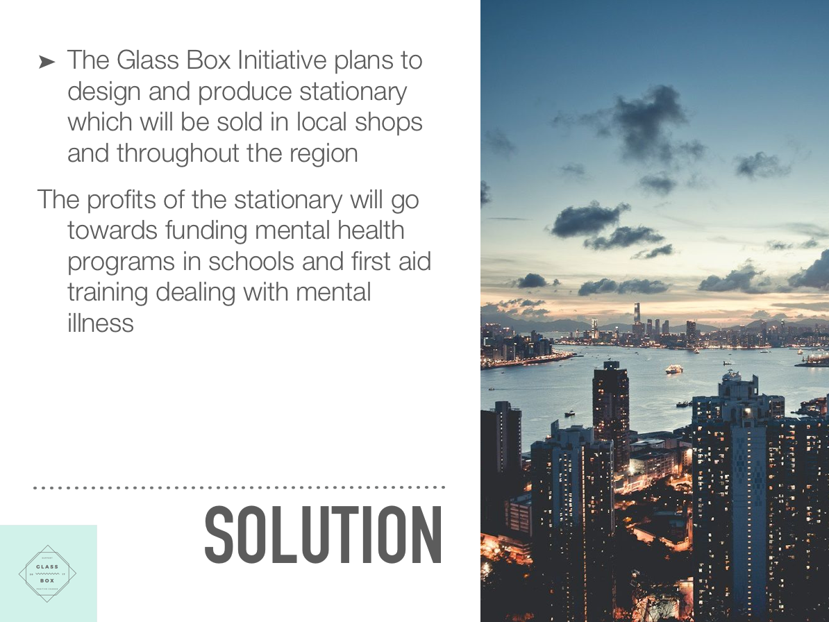 Glass box - solution