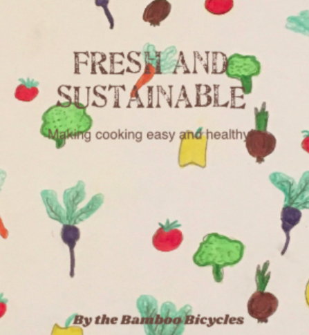 recipe book sample cover